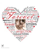 Forever Photo Typography Print