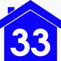 Wheelie Bin House Sticker
