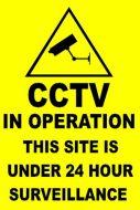 Custom CCTV Sign