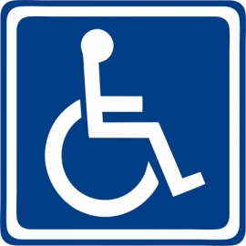 Vehicle Disability Decal
