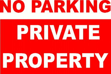 No Parking Sign Digital Image Lounge